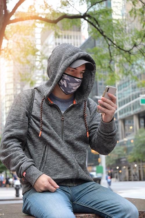 utiliser un masque antipollution